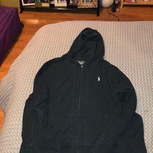 Ralph Lauren zip up hoodie